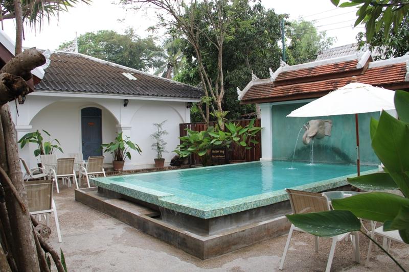 Laos Luang Prabang Villa Santi Hotel Resort Easia