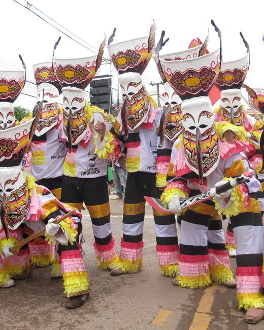 Phi Ta Khon Festival Day