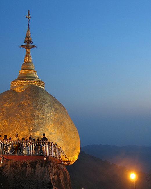 Kyaikhtiyo Pagoda Festival