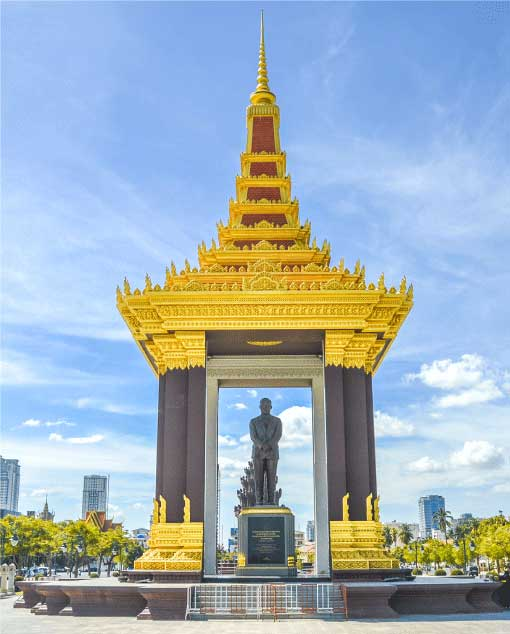 Commemoration Of Late King Father, Norodom Sihanouk