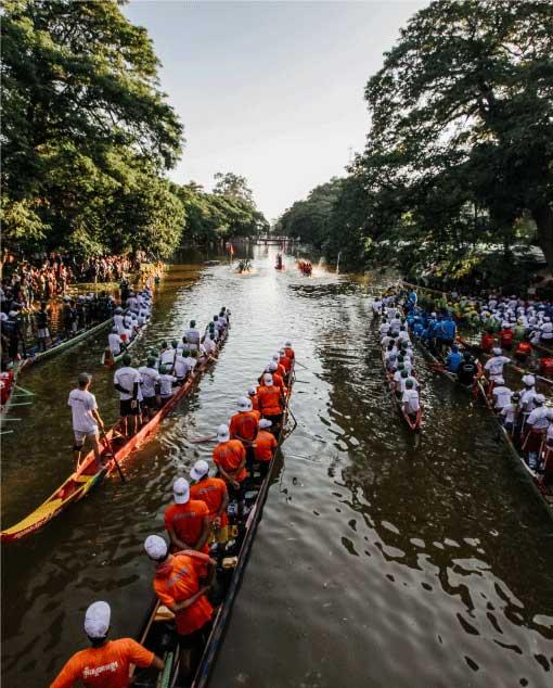 Bon Om Touk (Water Festival)