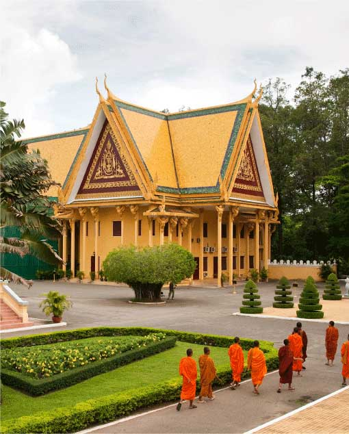 King Norodom Sihamoni's Birthday