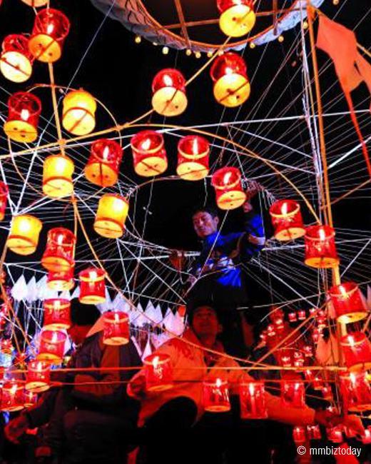 Tazaungdaing Light Festival