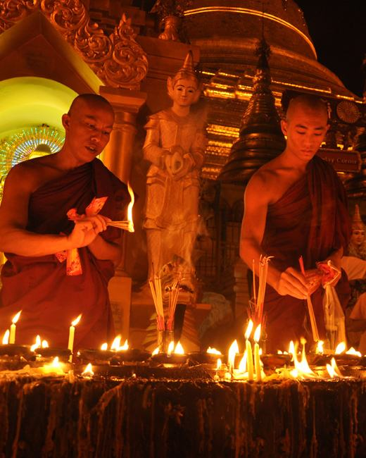 Shwedagon Pagoda Festival