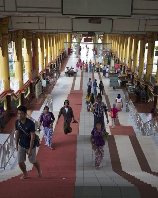 Shwemawdaw Pagoda Festival