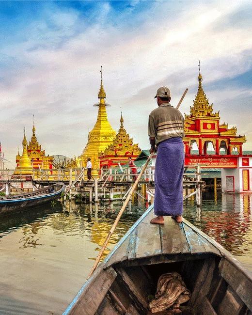 Indawgyi Pagoda Festival
