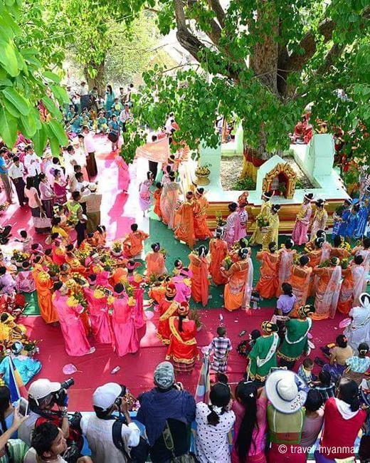 Shwekyetyet Pagoda Festival