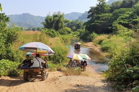 THAILAND – Udon Thani – Discover Isaan's countryside by E-tak and taste local specialties – INTERNAL ONLY