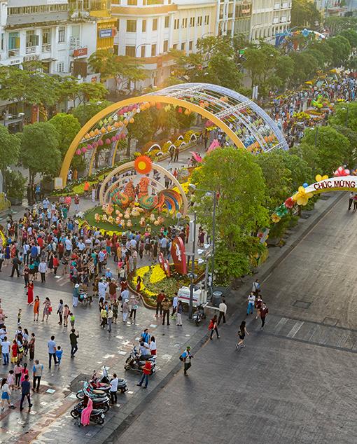 Nguyen Hue Flower Street Festival