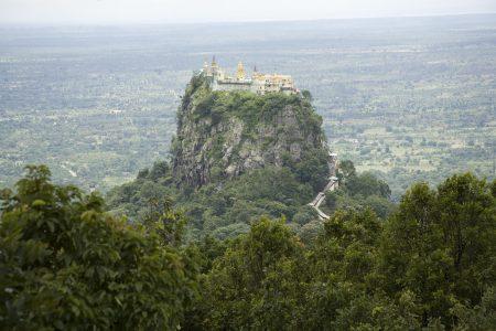 MYANMAR – Bagan – Journey to Mount Popa
